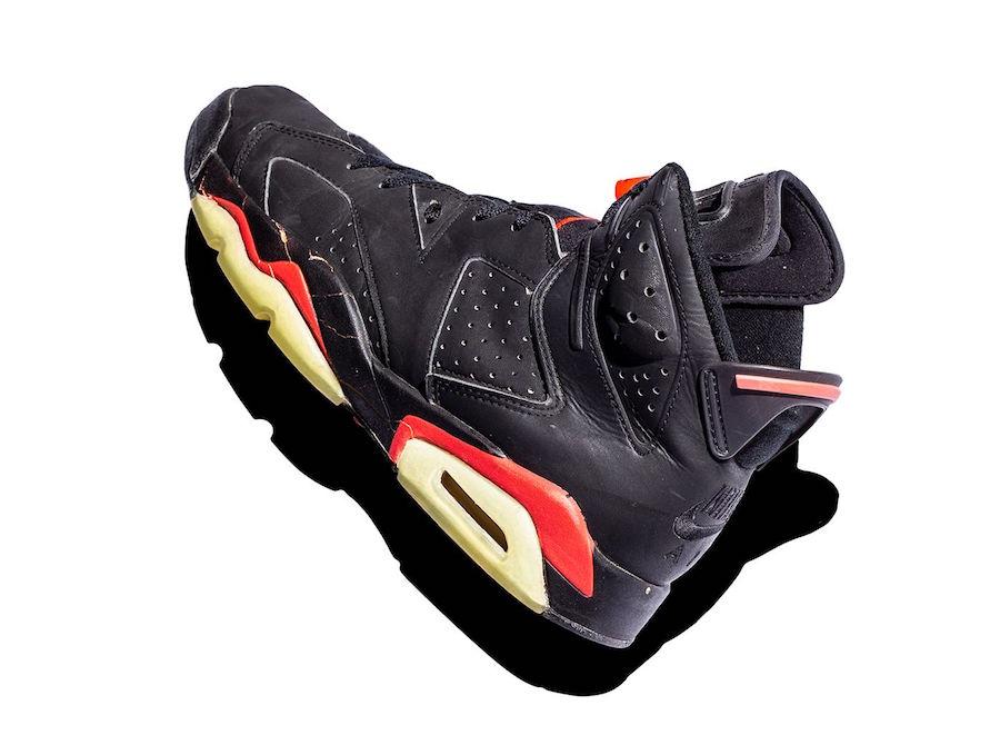 5b100a547a03 Air Jordan 6 Infrared Comparison 1991
