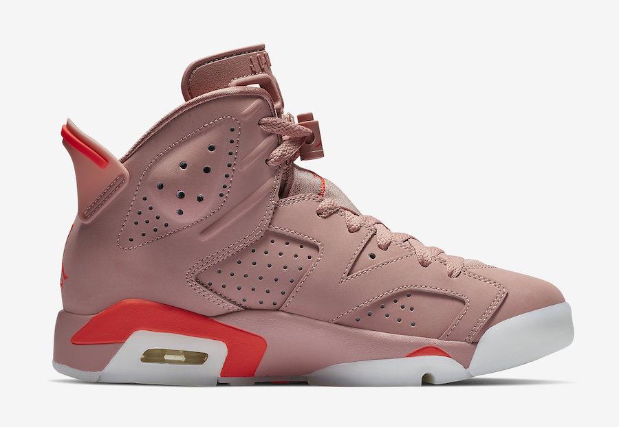 Aleali May Air Jordan 6 Millennial Pink CI0550-600 Release Date