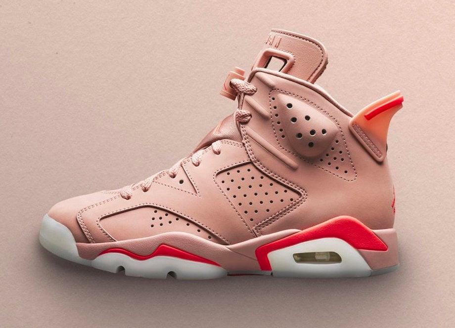 Aleali May x Air Jordan 6 Millennial Pink CI0550-600 Release Date