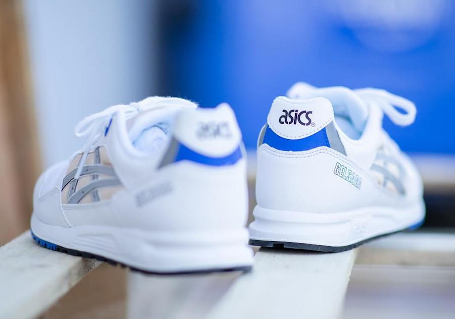 Asics Gel Saga Royal Blue Nude Silver