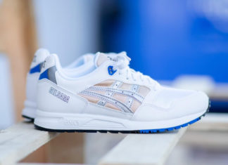 Asics Gel Saga Royal Blue Nude Silver