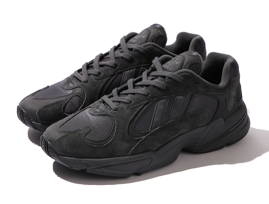 BEAMS adidas Yung-1 Black Release Date