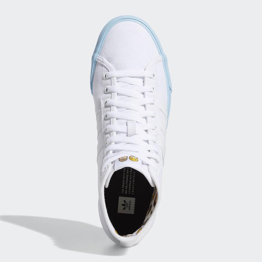 Beavis and Butt-Head adidas Matchcourt Hi DB3379 Release Date