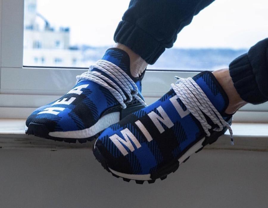 Billionaire Boys Club adidas NMD Hu Heart Mind Blue Black Release Date
