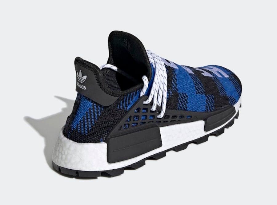 sports shoes 8e150 f0321 Billionaire Boys Club adidas NMD Hu Heart Mind Blue Black ...