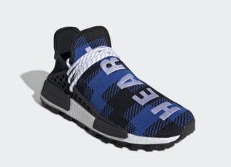 Billionaire Boys Club adidas NMD Hu Heart Mind Blue Plaid EF7387 Release Info