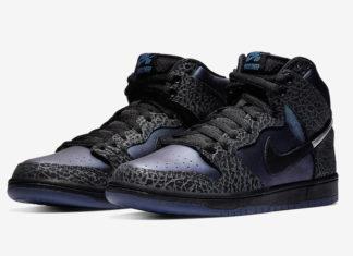 Black Sheep Nike SB Dunk High Black Hornet BQ6827-001 Release Date