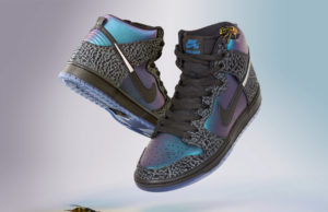 Black Sheep Nike SB Dunk High Black Hornet Release Date