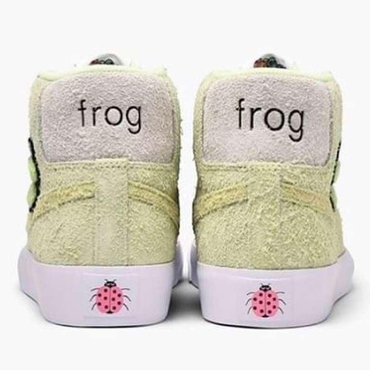 Frog Skateboards Nike SB Blazer Release Date