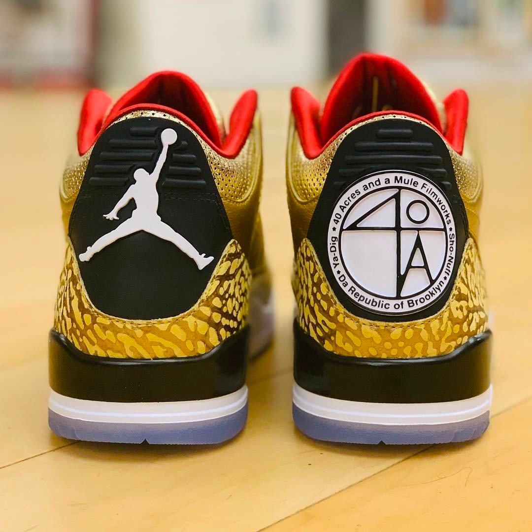 Gold Oscars Air Jordan 3 JTH Spike Lee 2019 Release Date