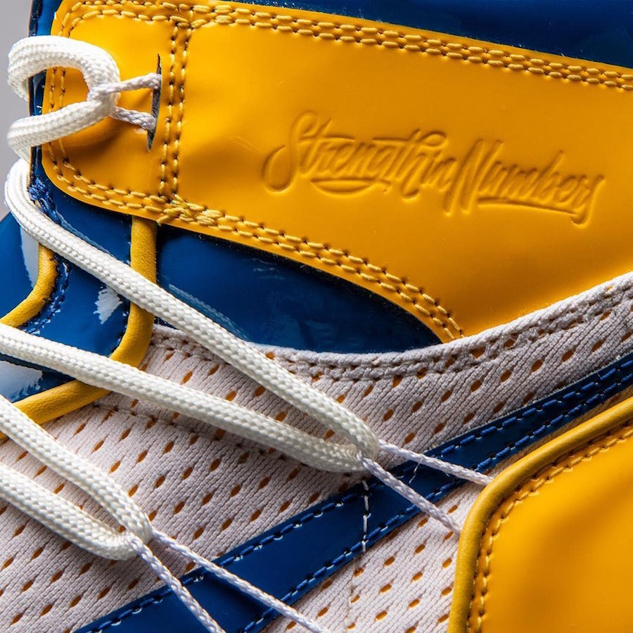 Golden State Warriors Air Jordan 1 Championship Release Date