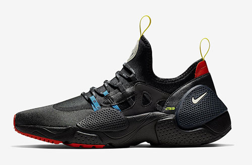 Heron Preston Nike Huarache Edge Black