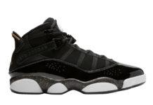 Jordan 6 Rings Black Gold 322992-007 Release Date