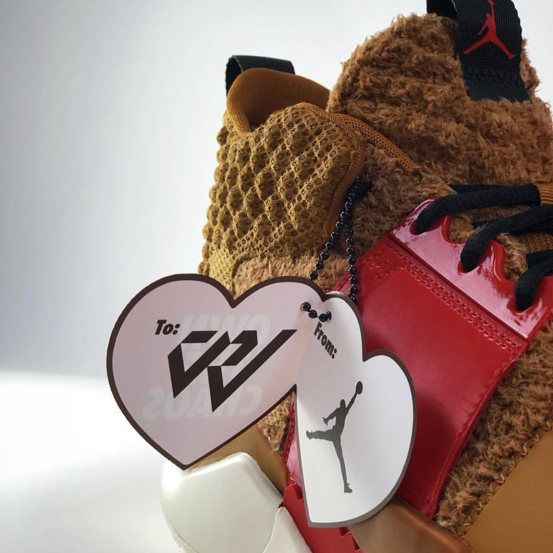 Jordan Why Not Zer0.2 Bear Jordan Valentines Day PE