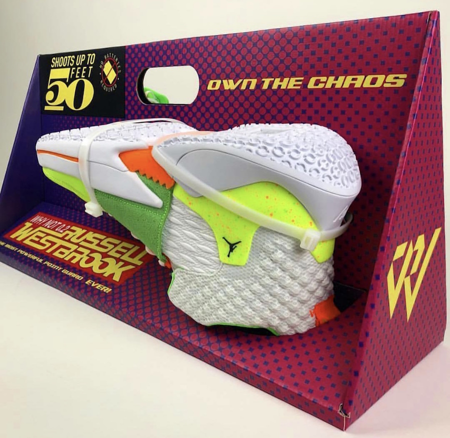 Jordan Why Not Zer0.2 Super Soaker Release Date