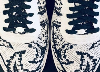 LeBron James Nike Air Force 1 Low Flyknit Paisley