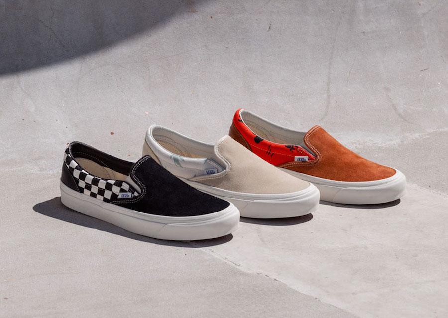 Modernica Vans Vault Style 36 Slip-On Release Date