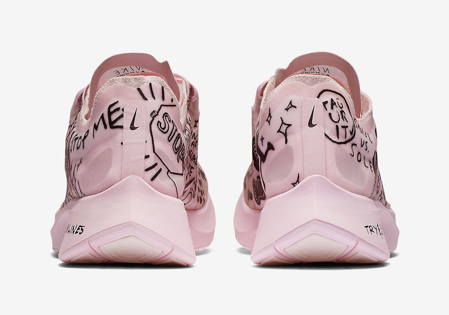Nathan Bell Nike Zoom Fly Pink AT5242-100 Release Date