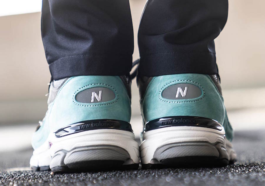 New Balance 991.9 Turquoise Black M9919EC Release Date