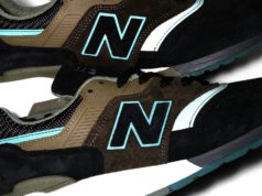New Balance 997 Black Olive Reflective
