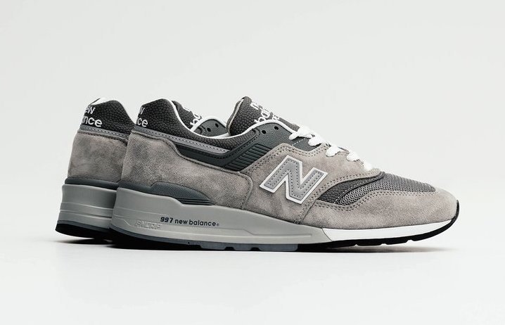 New Balance 997 Reissue Light Grey