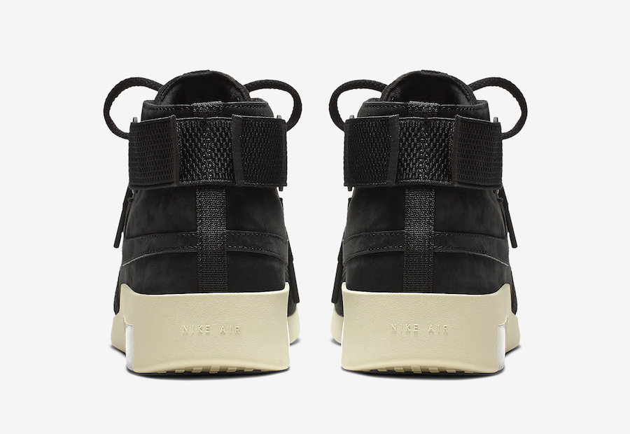Nike Air Fear of God 180 Black AT8086-002 Release Date