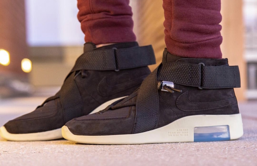 Nike Air Fear of God 180 Black Release Date