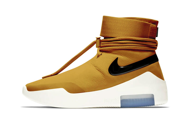 Nike Air Fear of God SA Wheat Gold Release Details