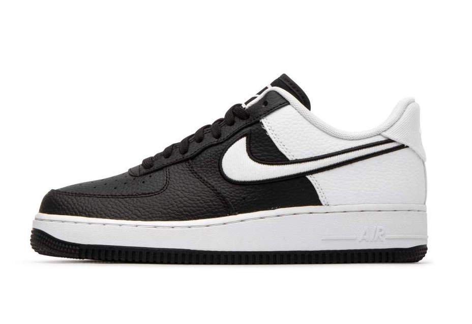 e4b7ea7e6f Nike Air Force 1 07 LV8 Black White AO2439-001 Release Date ...