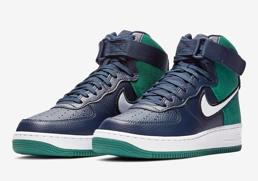 promo code a09d6 4e145 Nike Air Force 1 High AO2442-400 Release Date