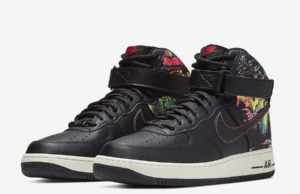 Nike Air Force 1 High Black Floral CI2304-001 Release Date