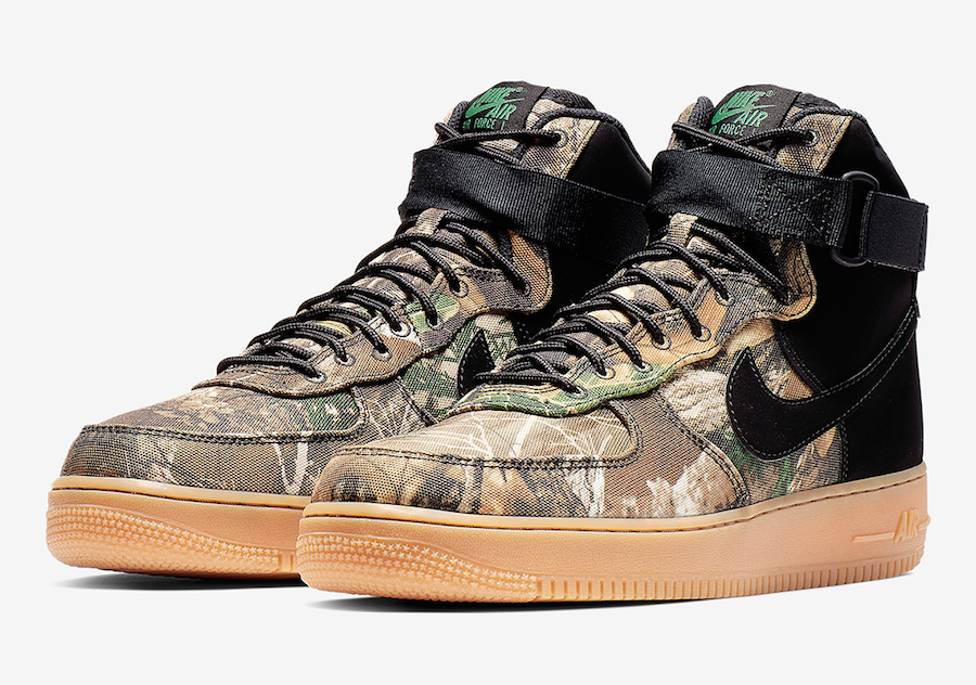 Nike Air Force 1 High Realtree AO2410-001 Release Date