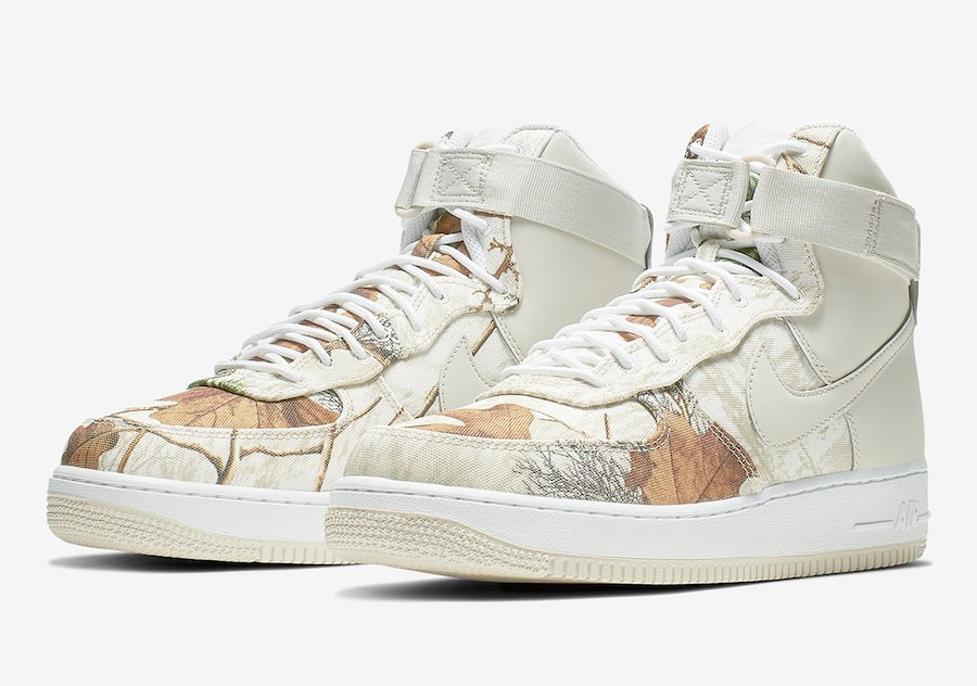 Nike Air Force 1 High Realtree AO2410-100 Release Date
