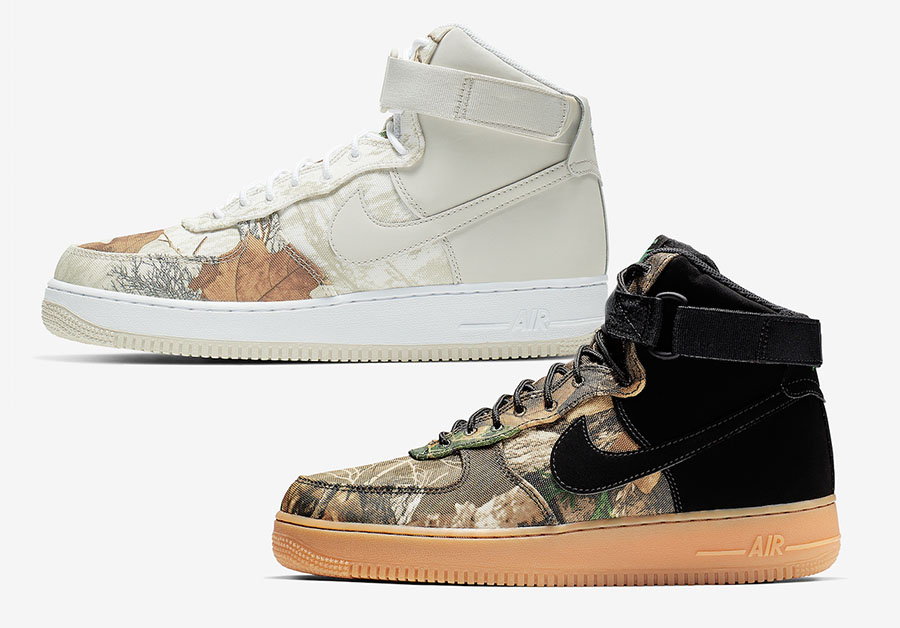 Nike Air Force 1 High Realtree Pack 2019 Release Date