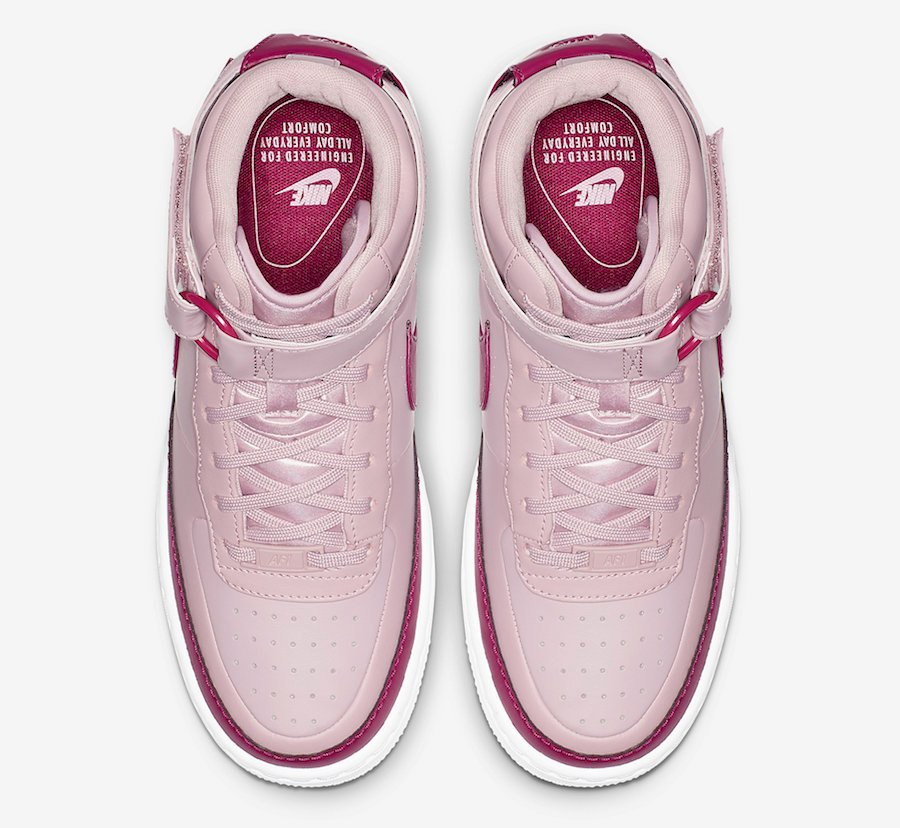 Nike Air Force 1 Jester High XX Plum Chalk AR0625-501 Release Date
