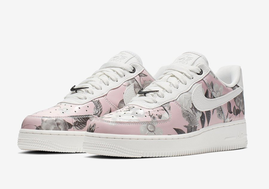 Nike Air Force 1 Low Floral AO1017 102 Release Date