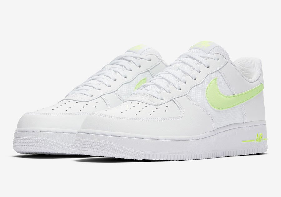 Nike Air Force 1 Low White Volt CD1516-100 Release Date