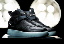 Nike Air Force 1 Mid Utility Black Blue AQ9758-001 Release Date