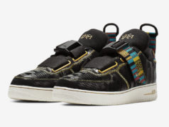 Nike Air Force 1 Utility BHM Black History Month BV7783-001 Release Date