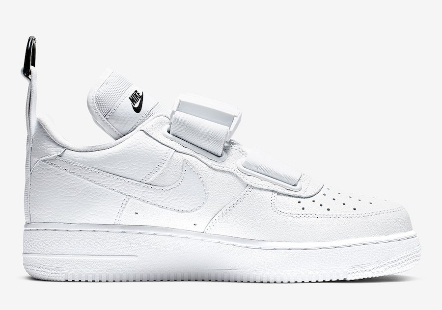 Nike Air Force 1 Utility White Black AO1531-101 Release Date
