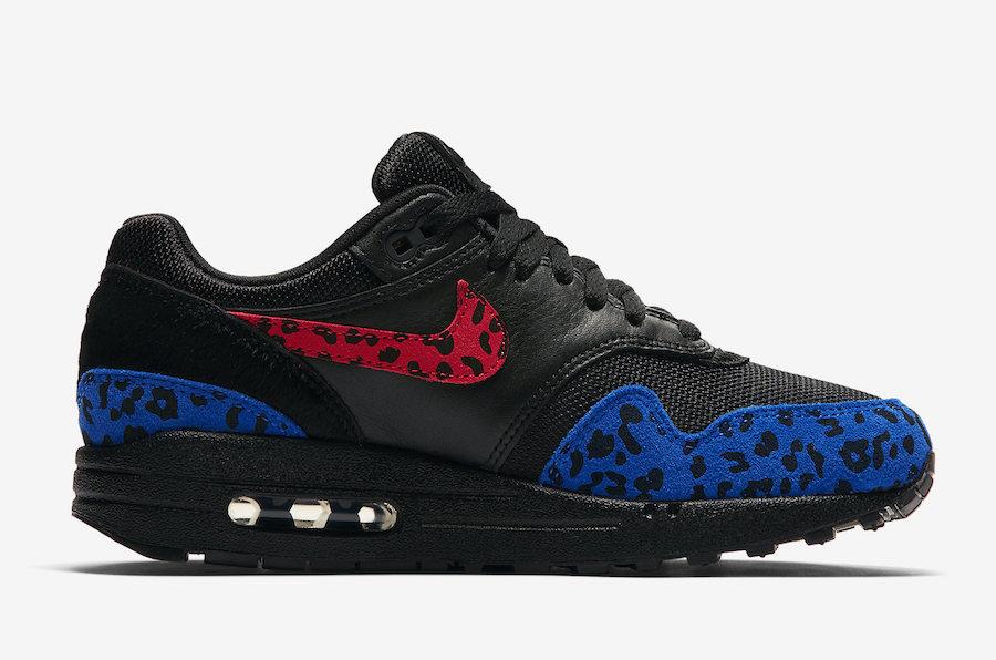 Nike Air Max 1 Premium Black Leopard BV1977-001 Release Date