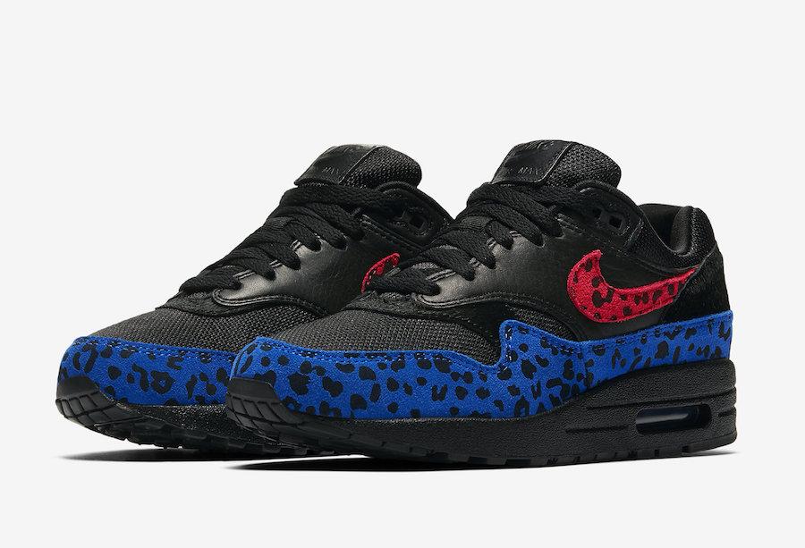tierra principal Cancelar metal  Nike Air Max 1 Premium Black Leopard BV1977-001 Release Date | SneakerFiles