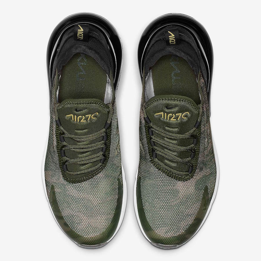 huge selection of 395a2 3ea4f Nike Air Max 270 Camo AR0499-003 Release Date