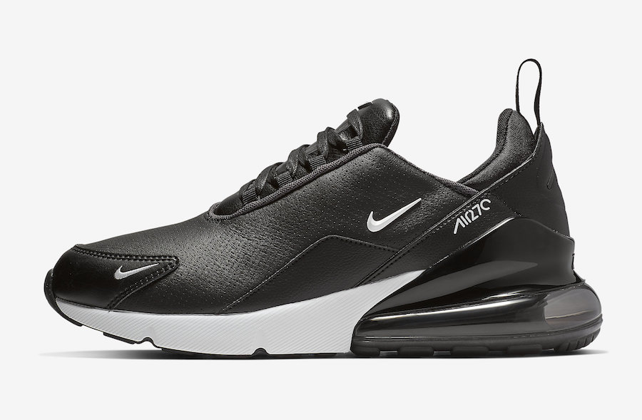 Nike Air Max 270 Premium Leather Black BQ6171-001 Release Date