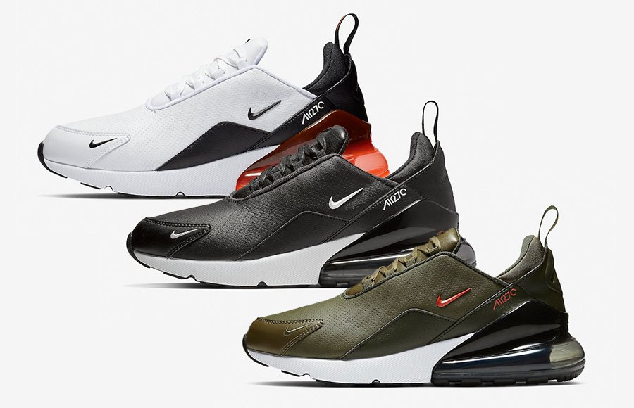 Nike Air Max 270 Premium Leather Pack