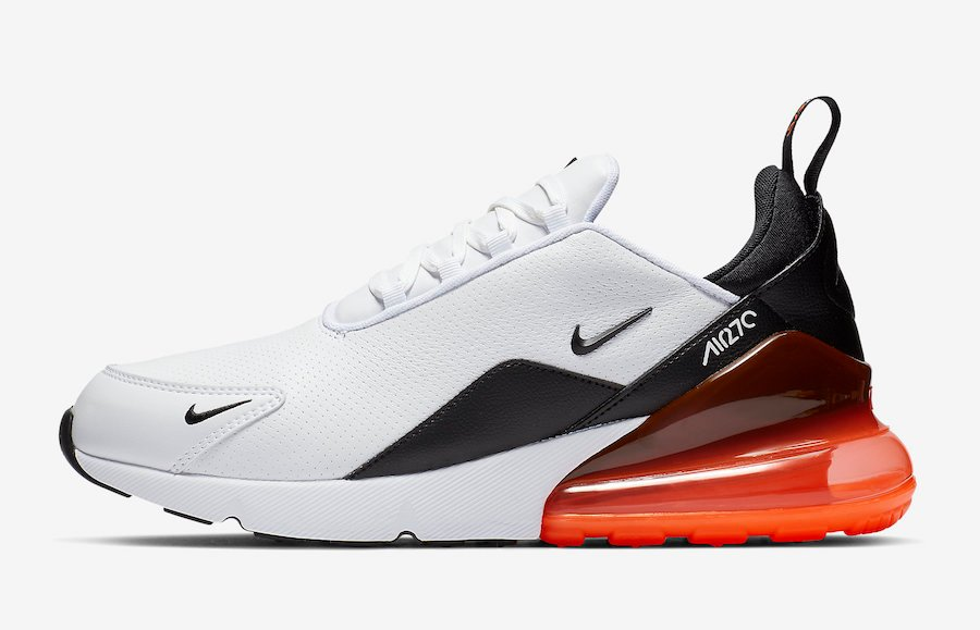 Nike Air Max 270 Premium Leather White BQ6171-100 Release Date