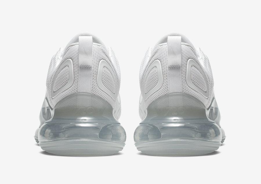 Nike Air Max 720 Metallic Platinum AO2924-100 Release Date