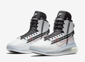 Nike Air Max 720 Saturn White Red AO2110-100 Release Date