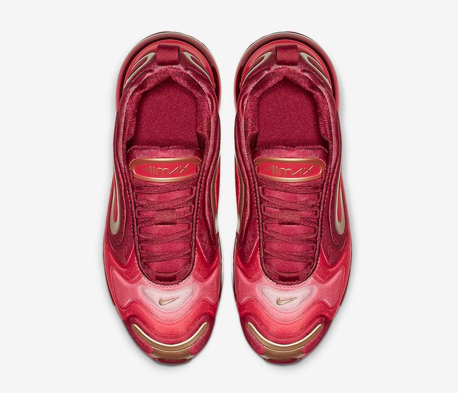 Nike Air Max 720 Team Crimson AQ3195-600 Release Date