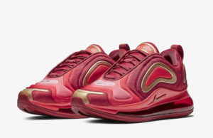 Nike Air Max 720 Team Crimson AQ3195-600 Release Date